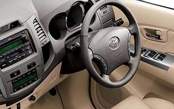 Toyota Fortuner Dashboard